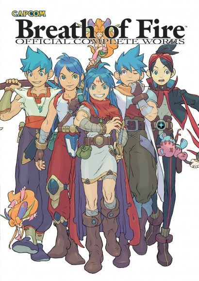Breath of Fire Official Complete Works - Capa
