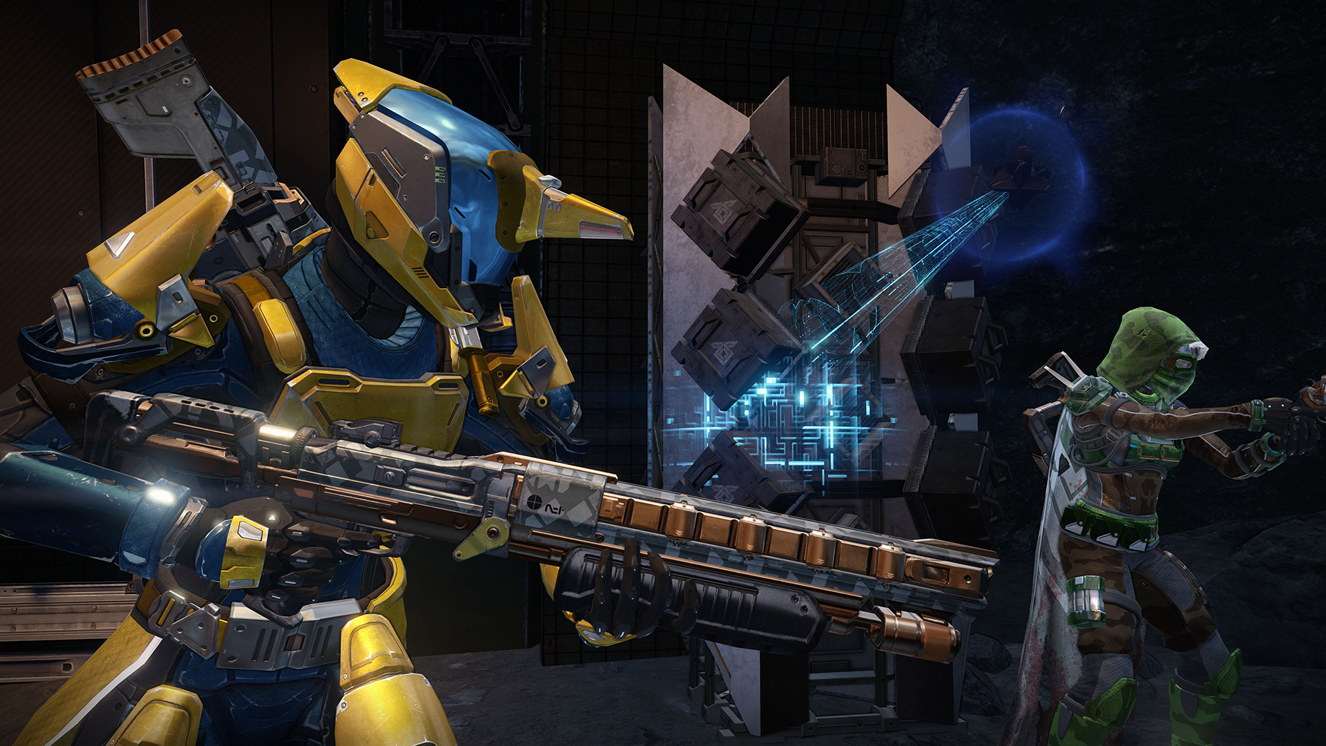 Destiny - Moon Anomaly - Salvage - 3x3 - Multiplayer Screenshot Full HD