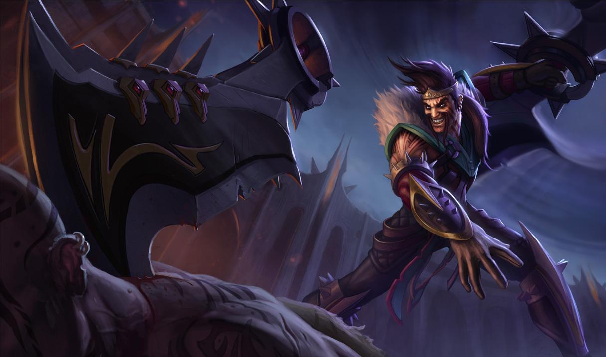 Draven - League of Legends - KeyArt HD