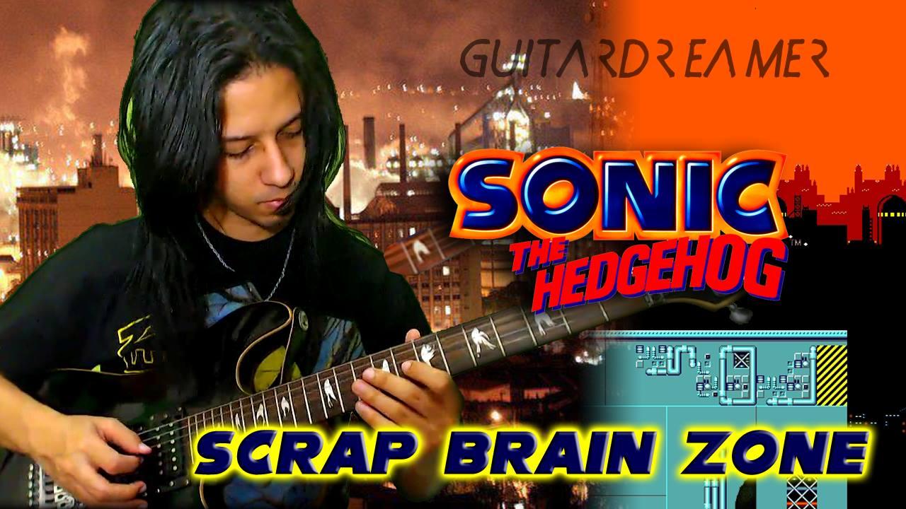GuitarDreamer VGM Covers - Sonic - Scrap Brain Zone