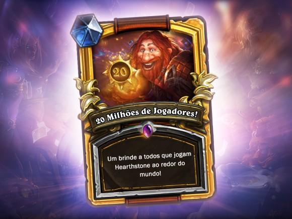 Hearthstone - Card Game - Blizzard - 20 milhões de Jogadores