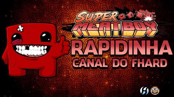 Super Meat Boy - Rapidinha - Banner Topo - FHard