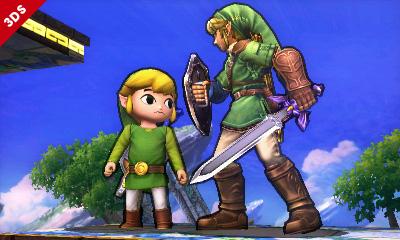 Super Smash Bros - 3DS - Links