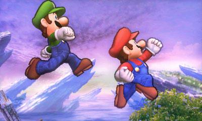 Super Smash Bros - 3DS - Mario e Luigi