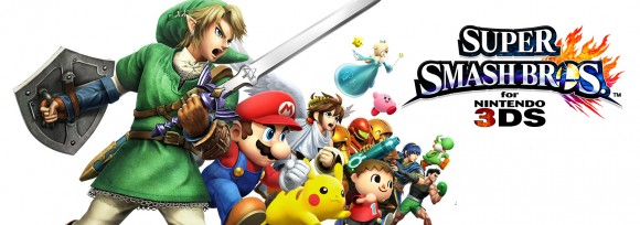 Super Smash Bros - 3DS Render - Personagens Principais