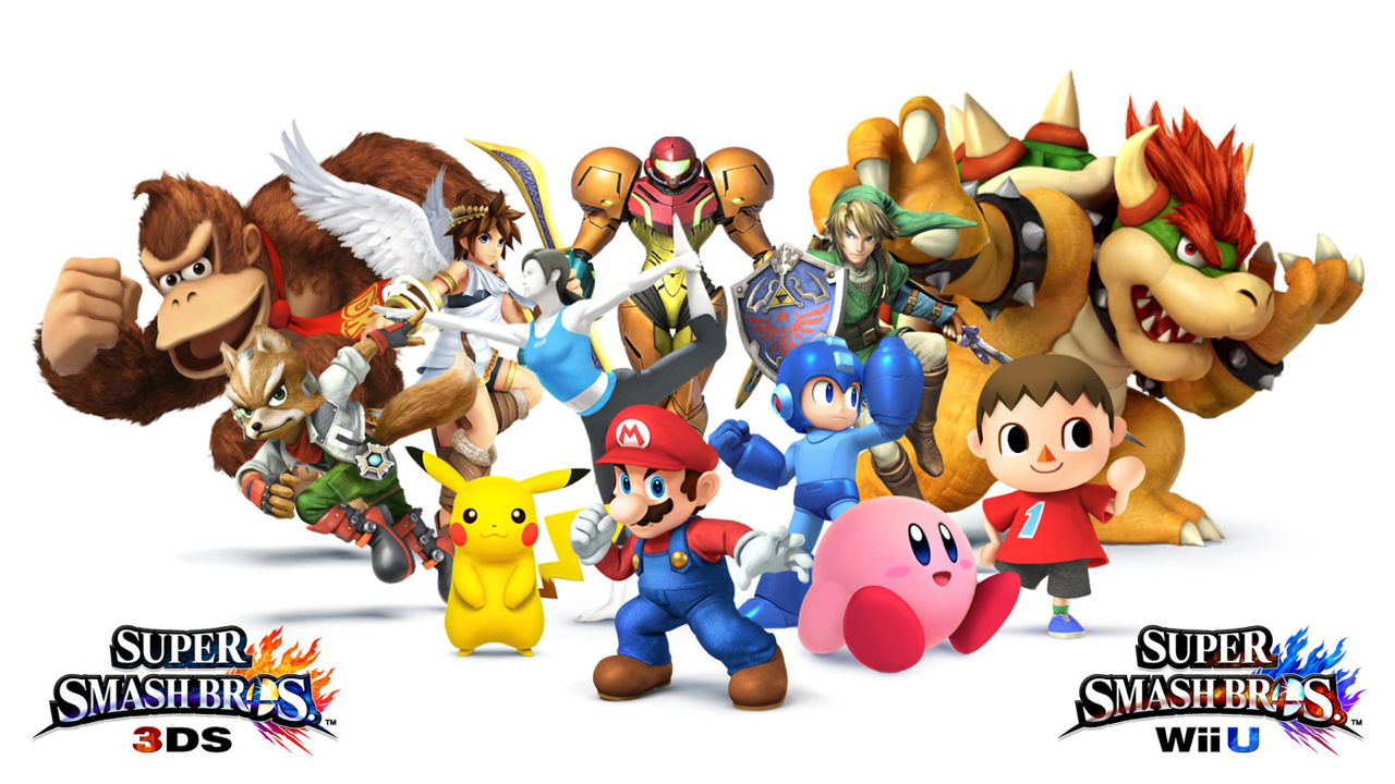 Super Smash Bros - Roster - Characters