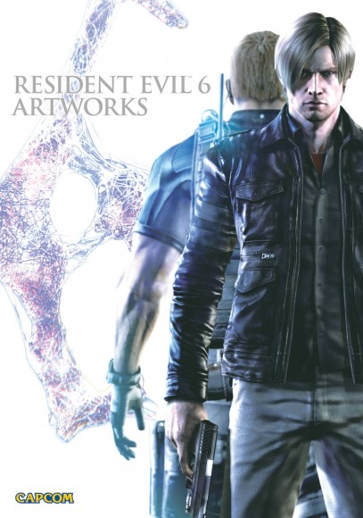Udon - Resident Evil 6 Book - Cover