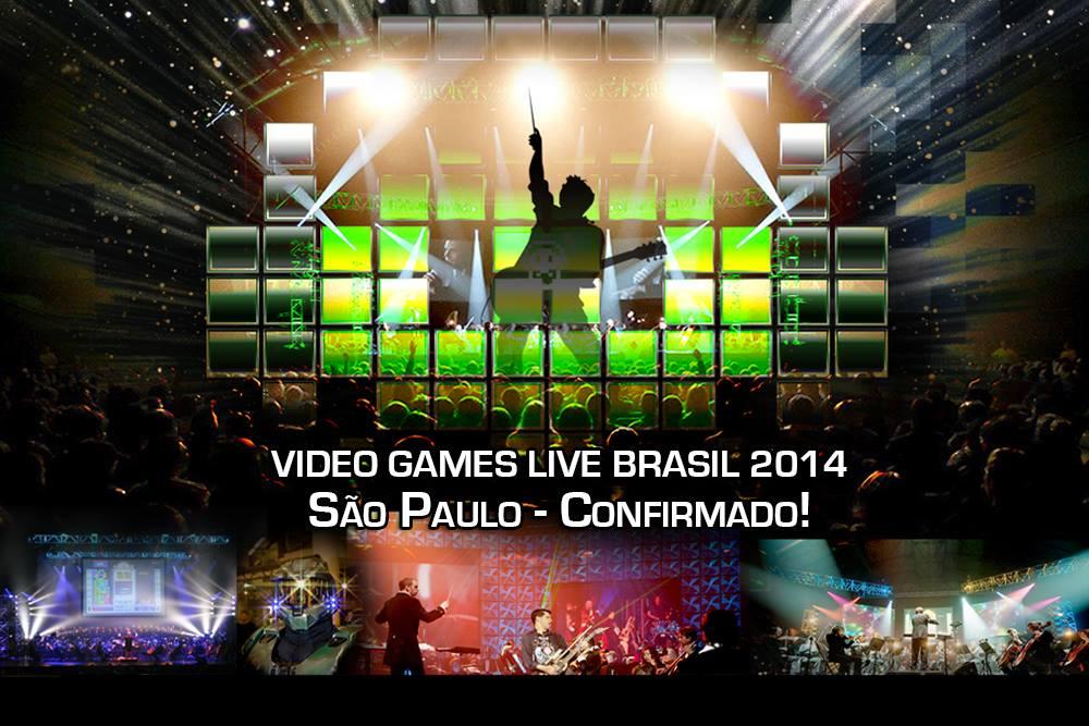 Video Games Live Brasil - São Paulo - Confirmado 2014