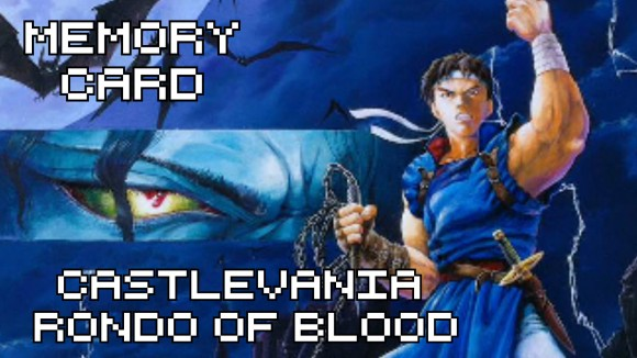 Animagamer - Memory Card - Castlevania: Rondo of Blood