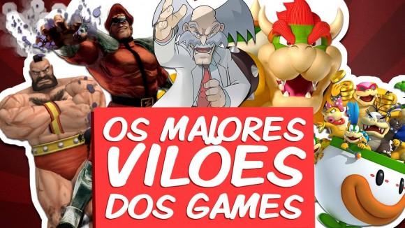 Arte - Maiores Vilões dos Games - Imagem