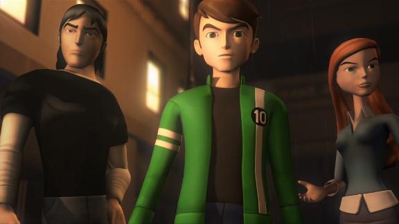 Ben 10 - Ben - Gwen - Kevin