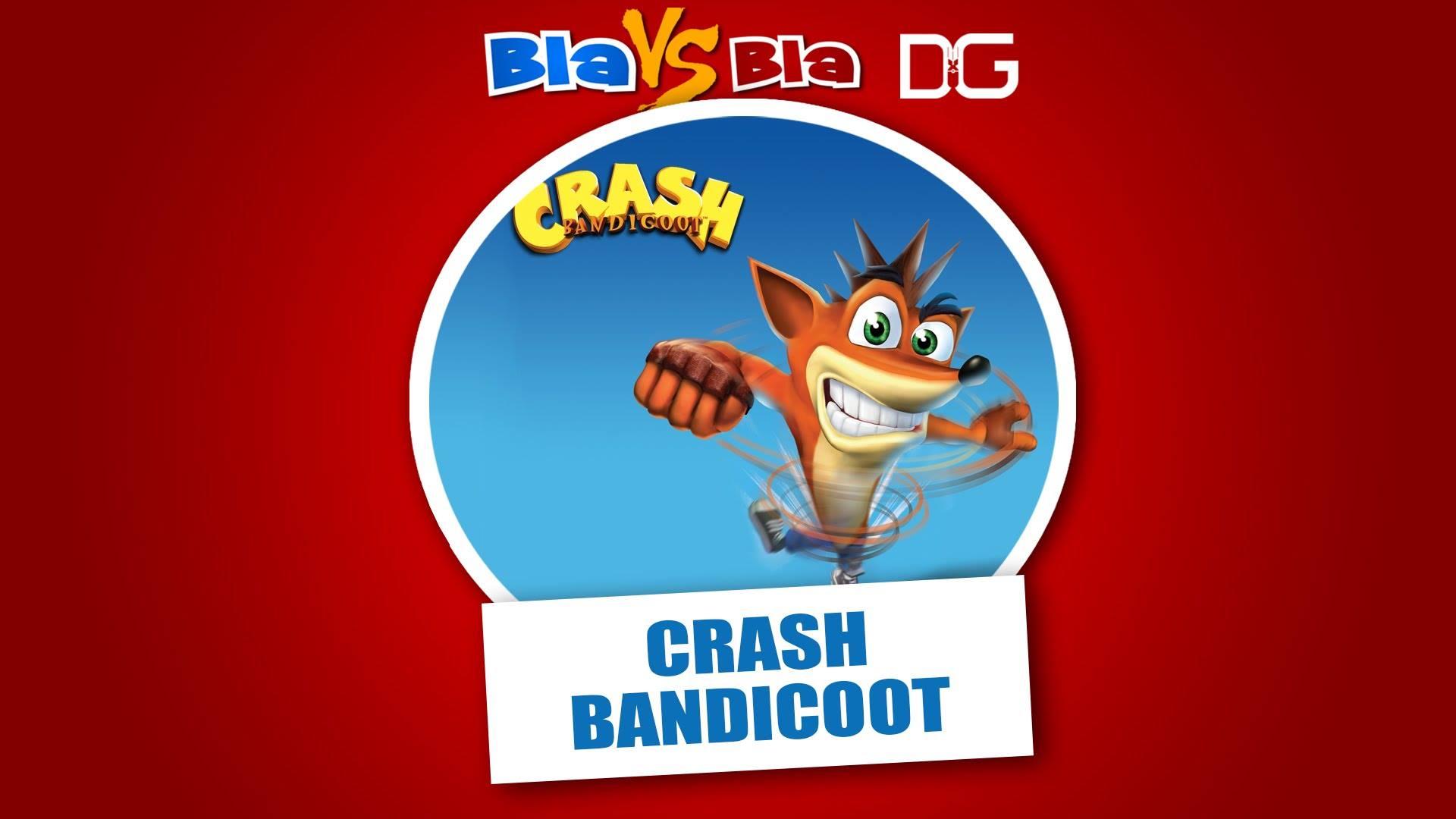 Bla vs Bla - Crash Bandicoot - DG - Imagem