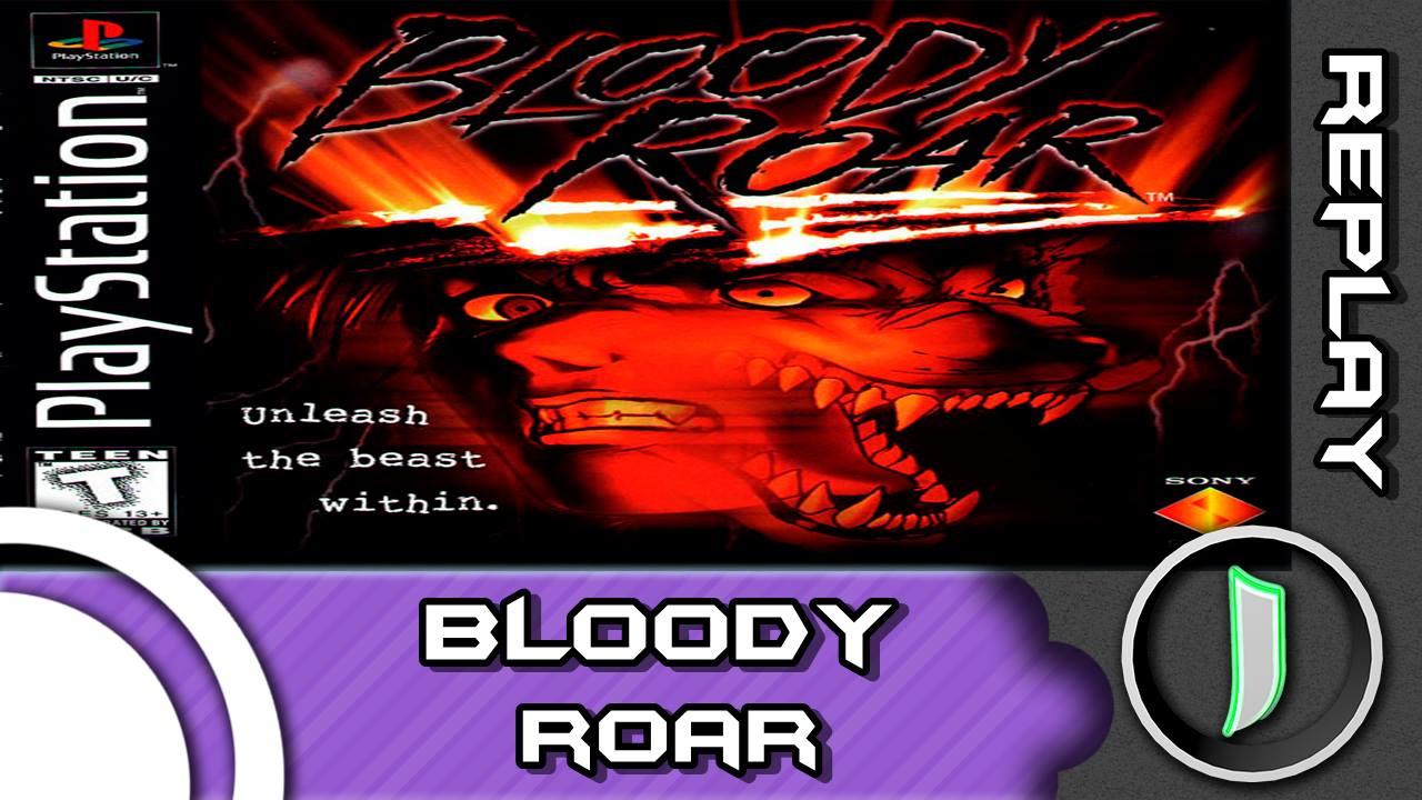 Bloody Roar - Imagem BoxArt PSX - Replay