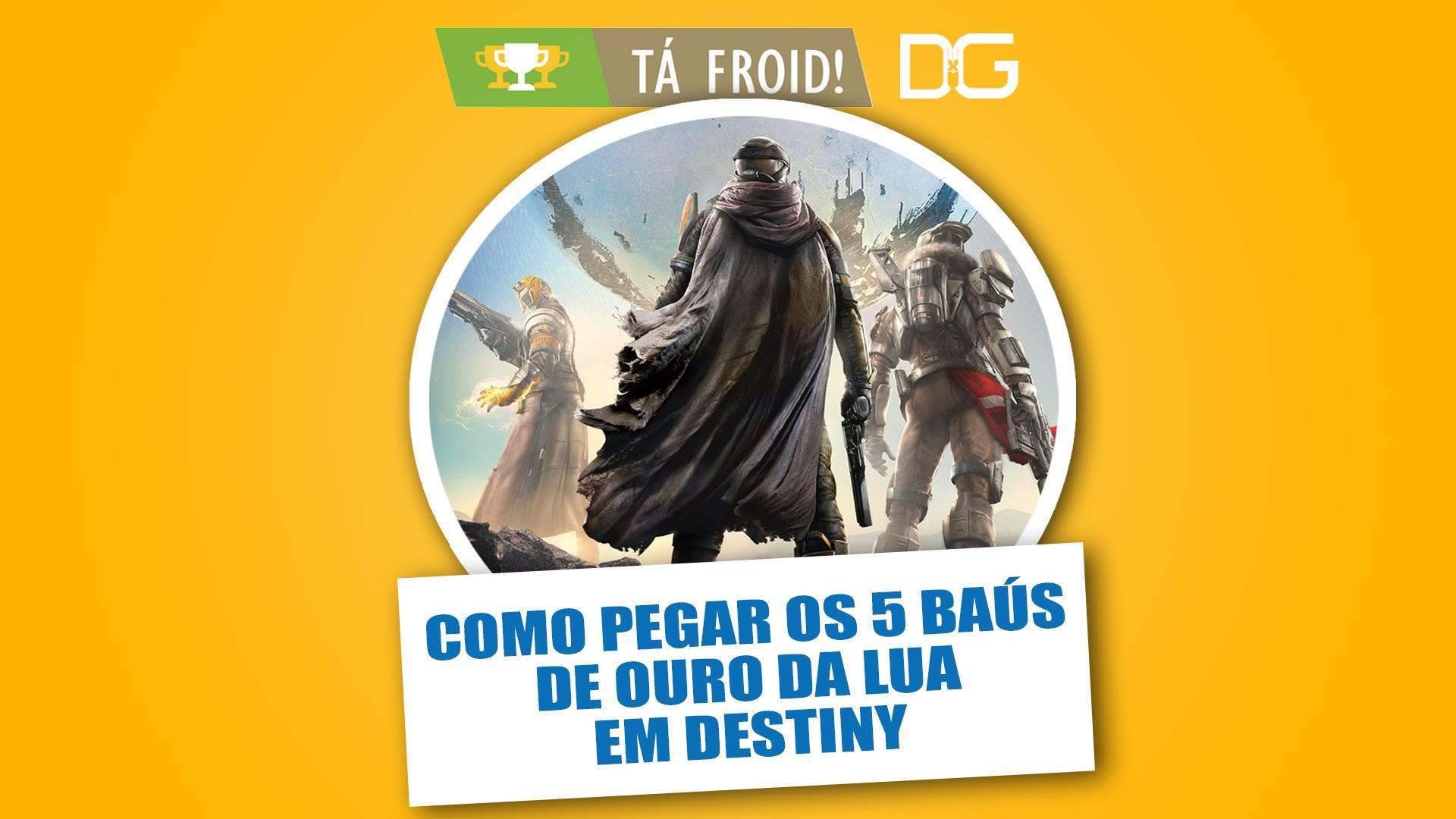 Destiny - Baús de Ouro - Lua