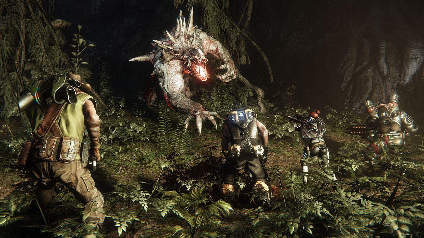 Evolve - Screenshot HD - Players vs Monster