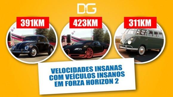 Forza Horizon 2 - Veículos de Alta Velocidade - Imagem
