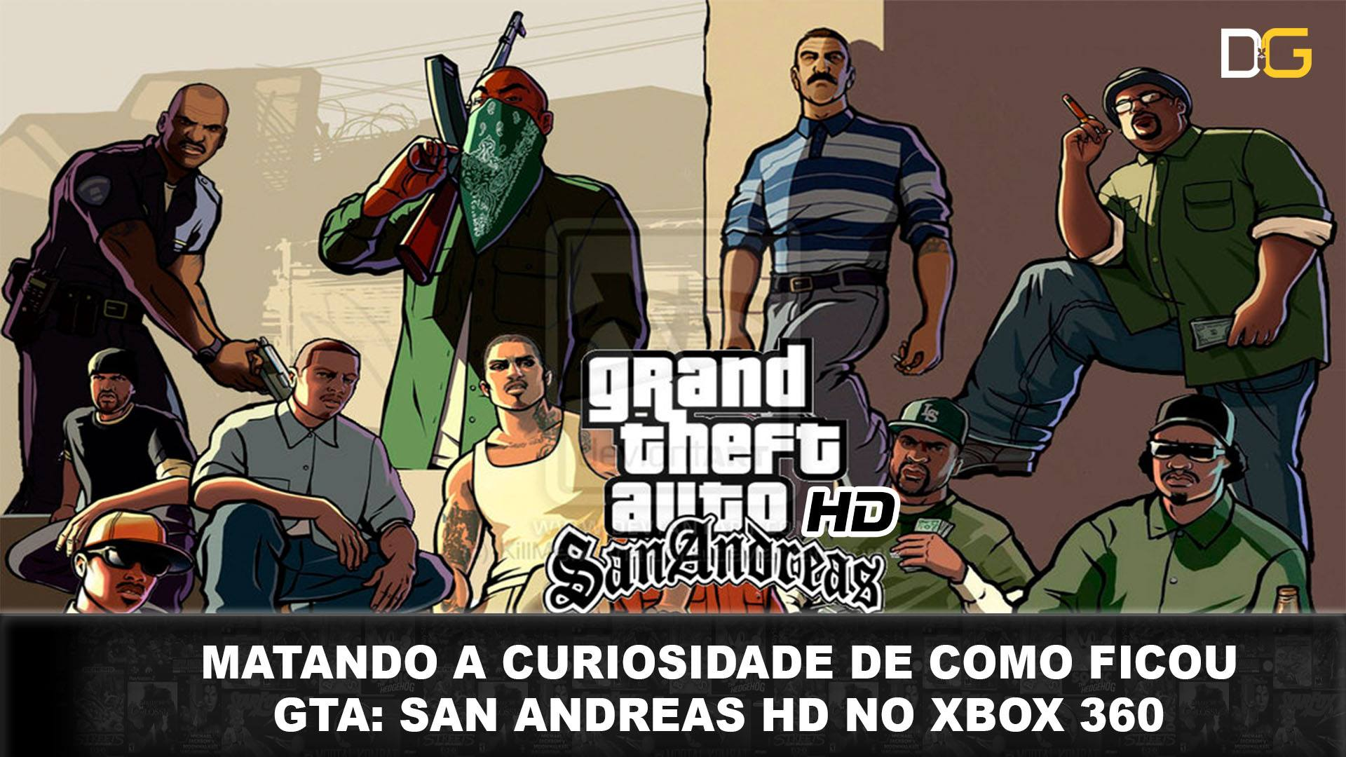 GTA San Andreas - Destroyer Games - Imagem HD