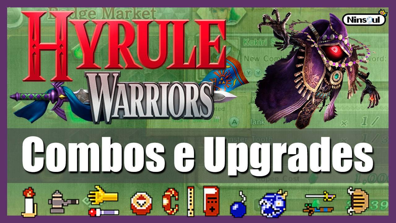 Hyrule Warriors - Combos e Upgrades - NinSoul - Imagem