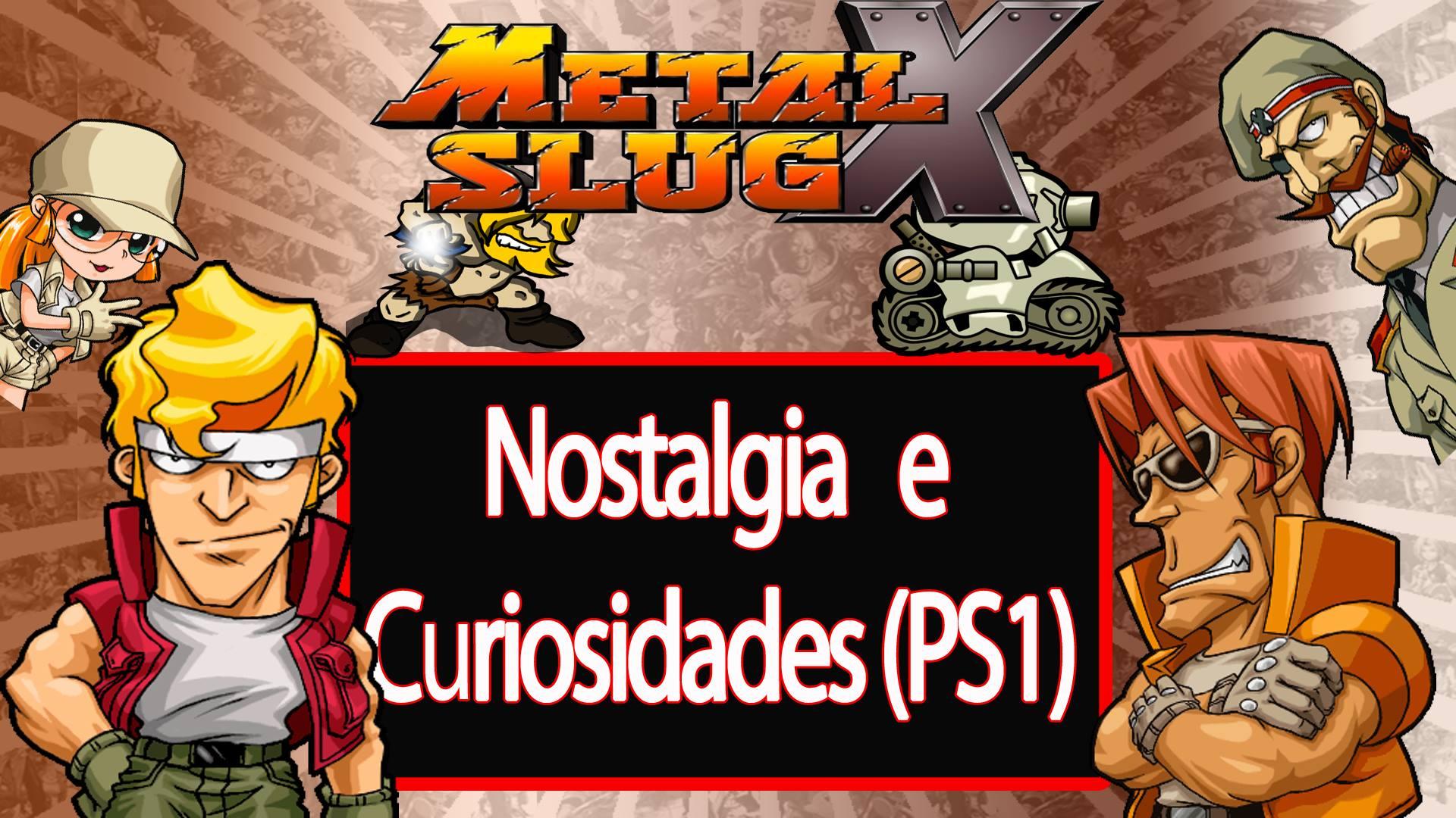Metal Slug X - Curiosidades