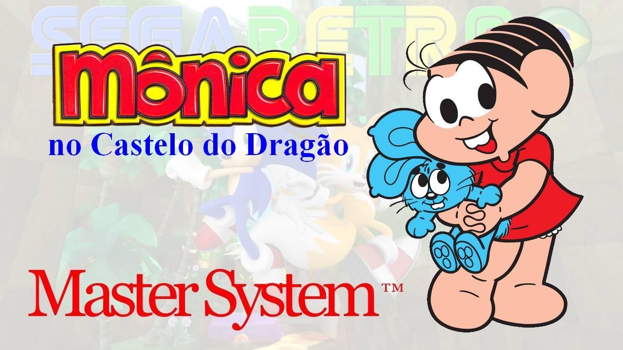 Monica no Castelo do Dragão - Master System