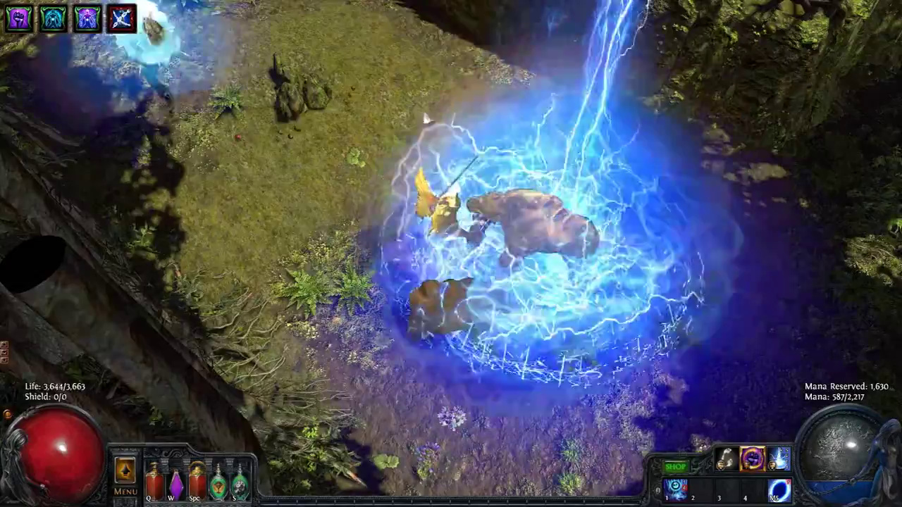 Path of Exile - Lightning Power - New Patch Screen