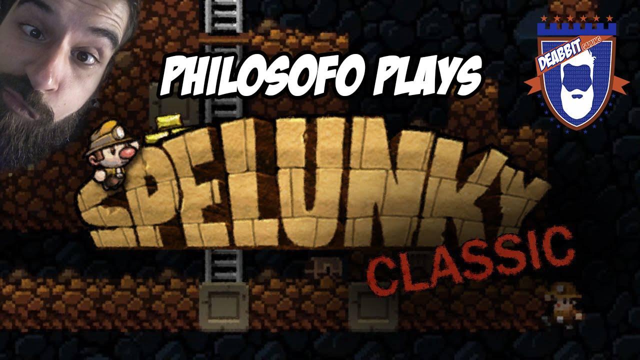 Philosofo Plays - Spelunky HD
