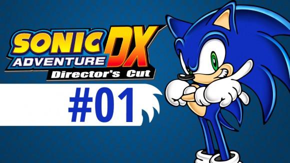 Sonic Adventure - Directors Cut - 01
