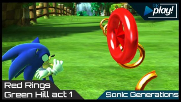 Sonic Generations - RK Play - Red Rings
