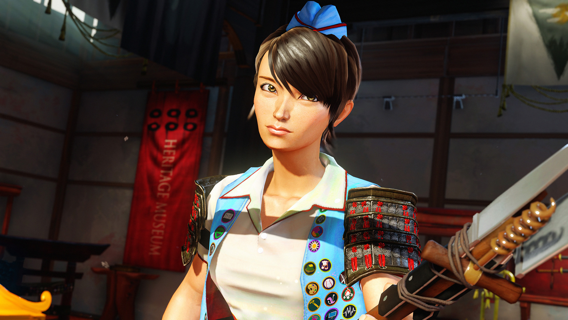 Sunset Overdrive - 4kim - Beautiful Woman
