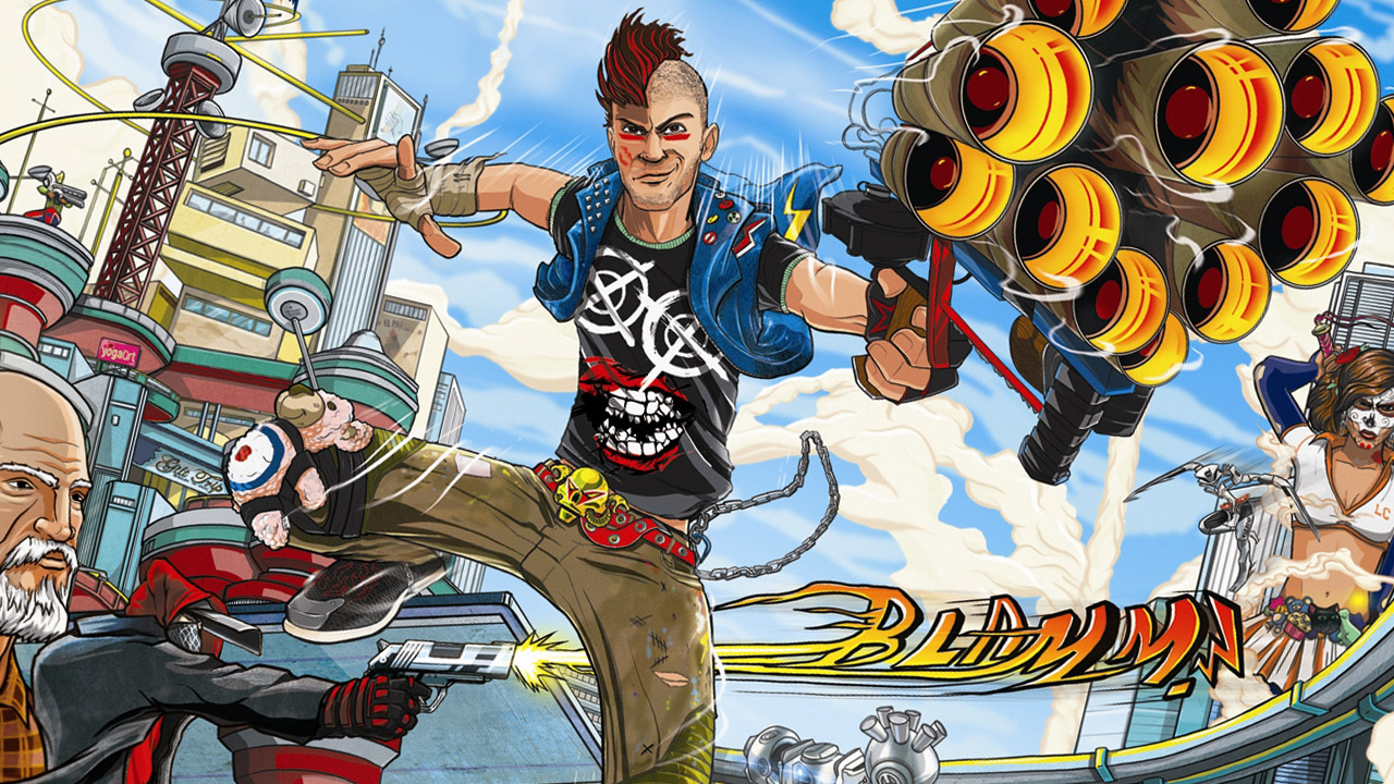 Sunset Overdrive - Protagonista