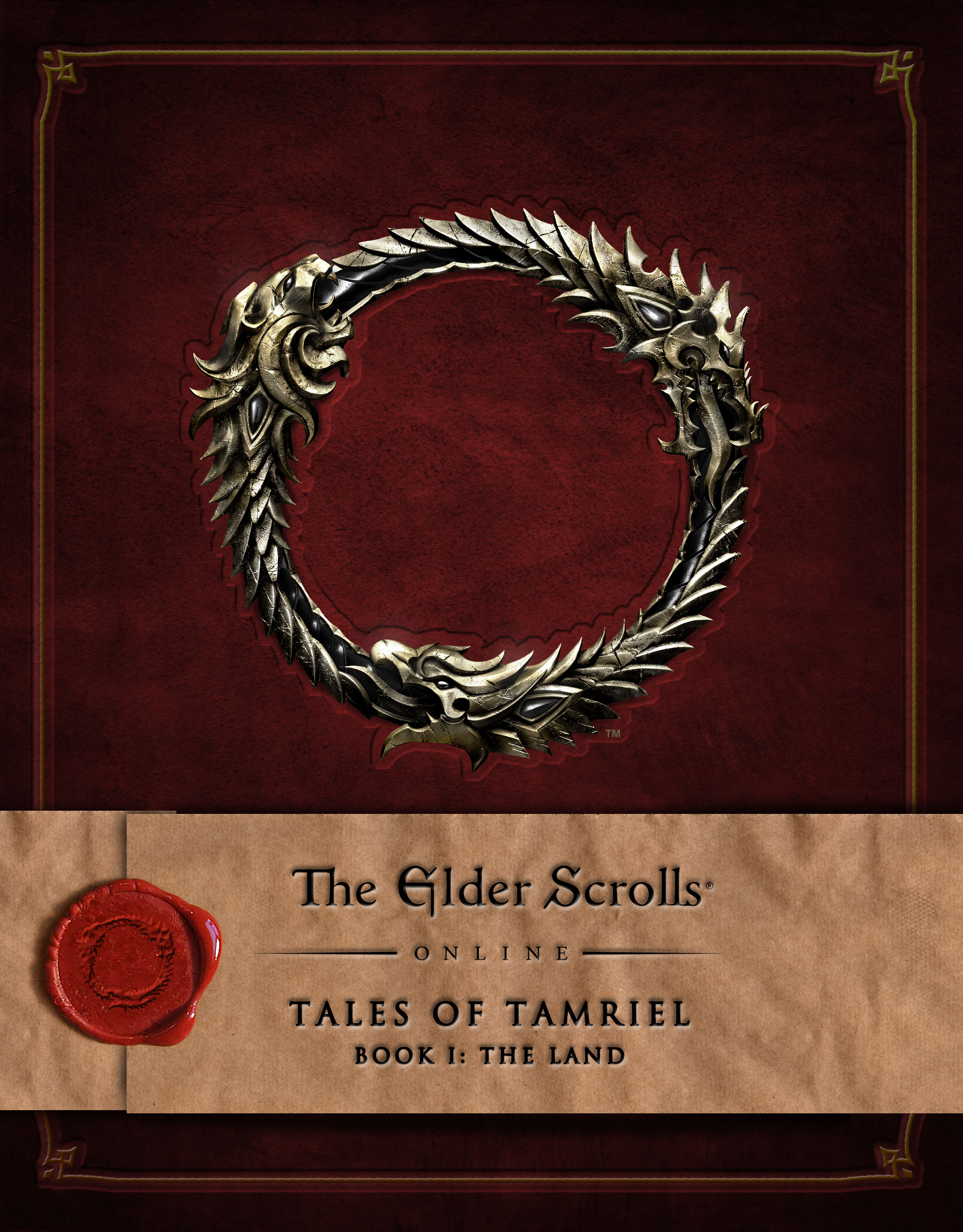 Tales of Tamriel - ESO RED Book 1 - FRONT