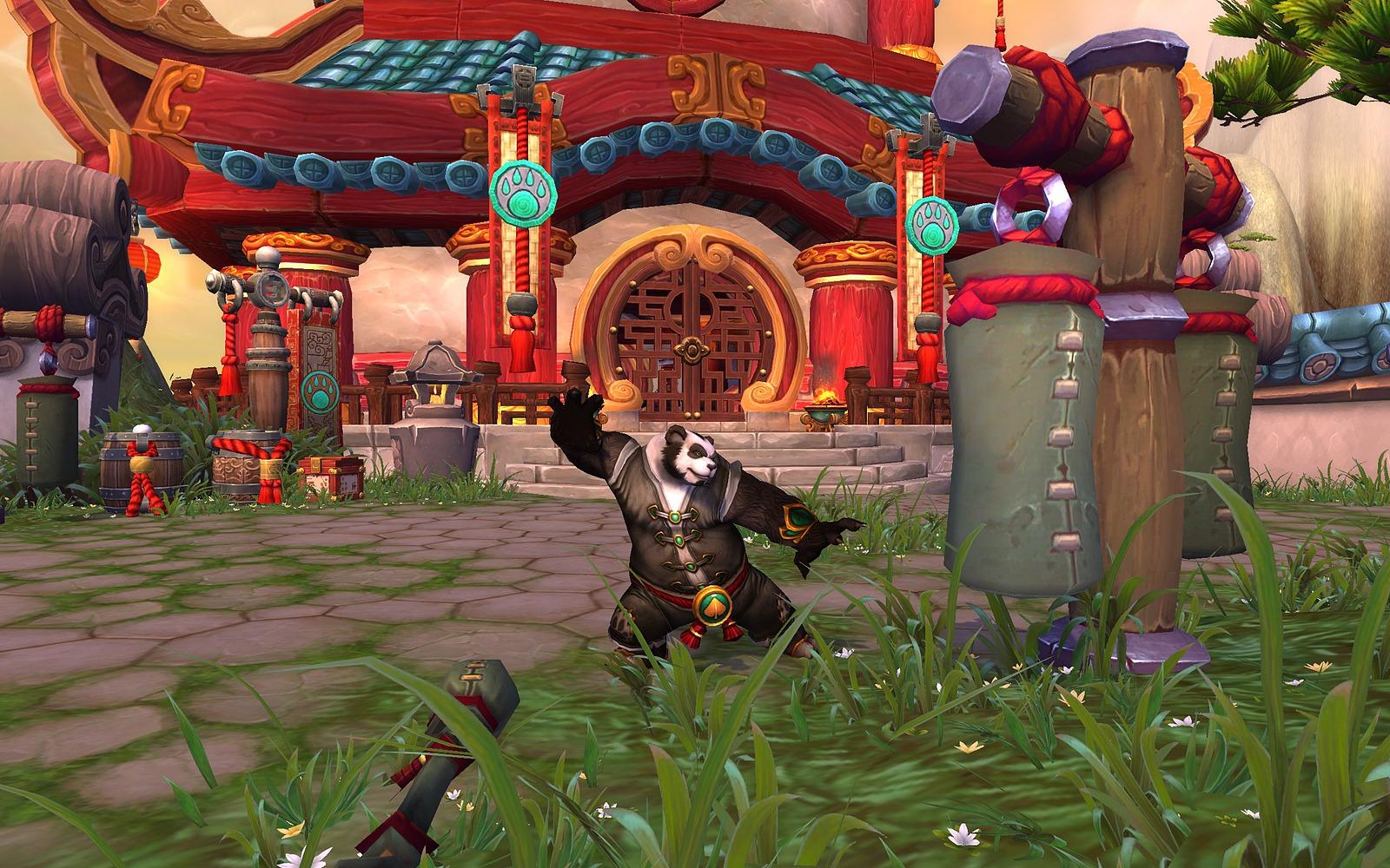 World of Warcraft - Mists of Pandaria - Panda Lutador