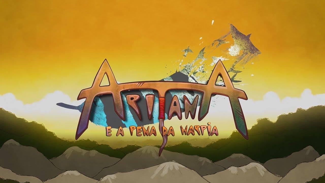 Aritana e a Pena da Harpia - Logo
