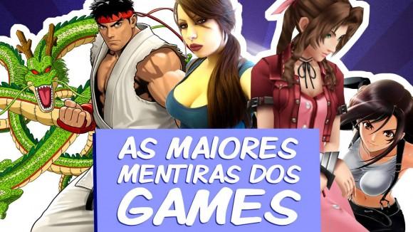 As Maiores Mentiras dos Games - Imagem - Smok