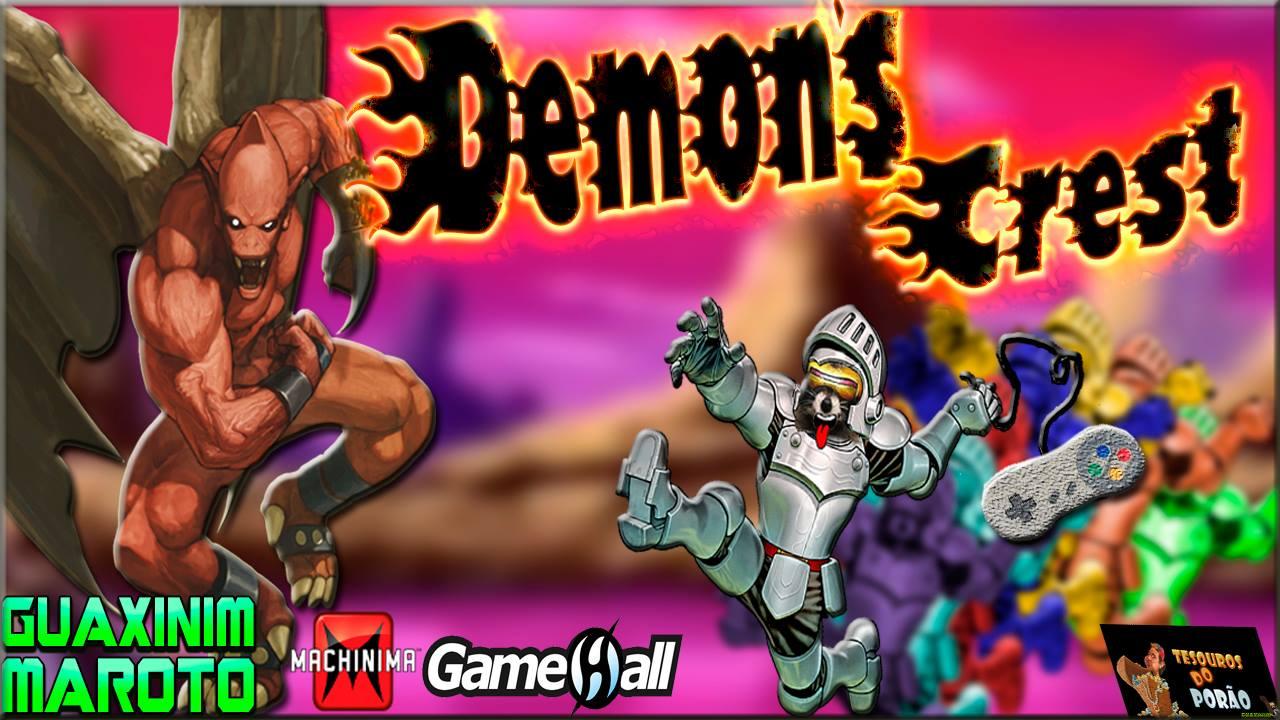 Demon's Crest - Guaxinim Maroto - Imagem