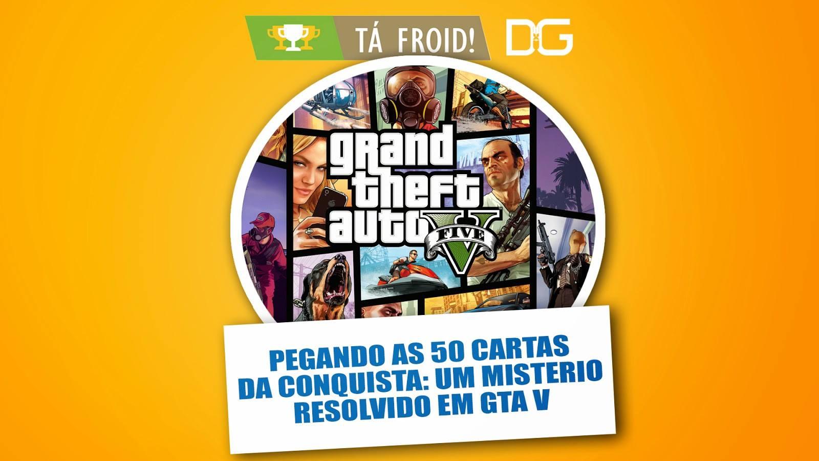 Destroyer Games - Tá Froid - GTA V - Imagem