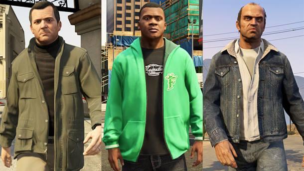 GTA V - Personagens e suas Roupas - Imagem