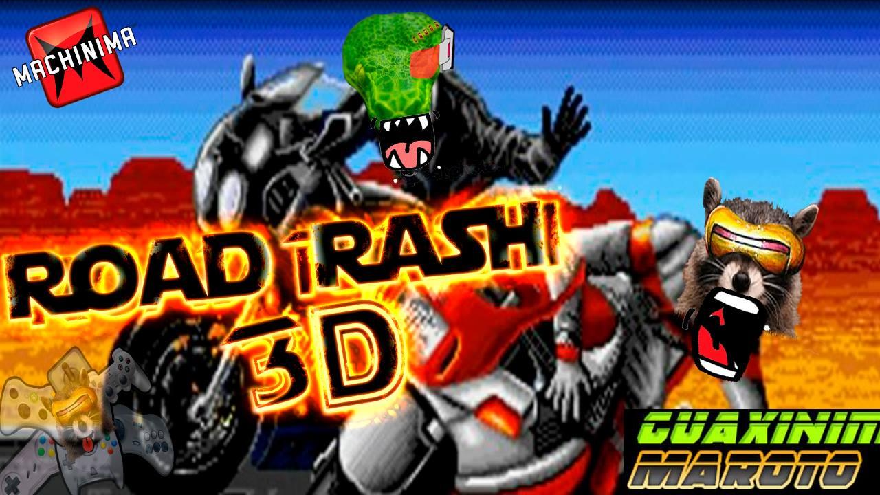 Guaxinim Maroto - Road Rash 3D Imagem