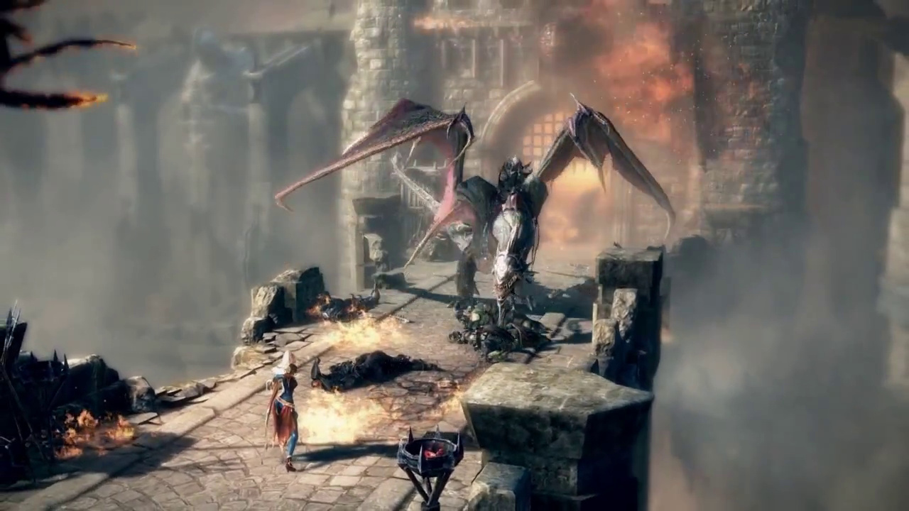 Lineage Eternal - Gameplay Screenshot 01 - Dragon
