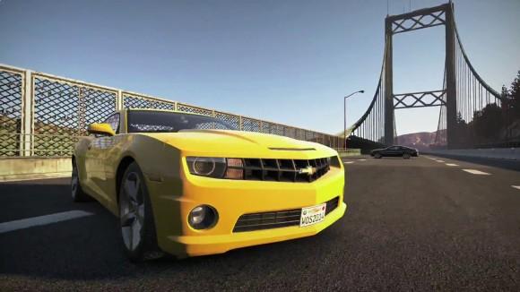 World of Speed - Chevrolet Camaro SS - Screenshot in Bridge