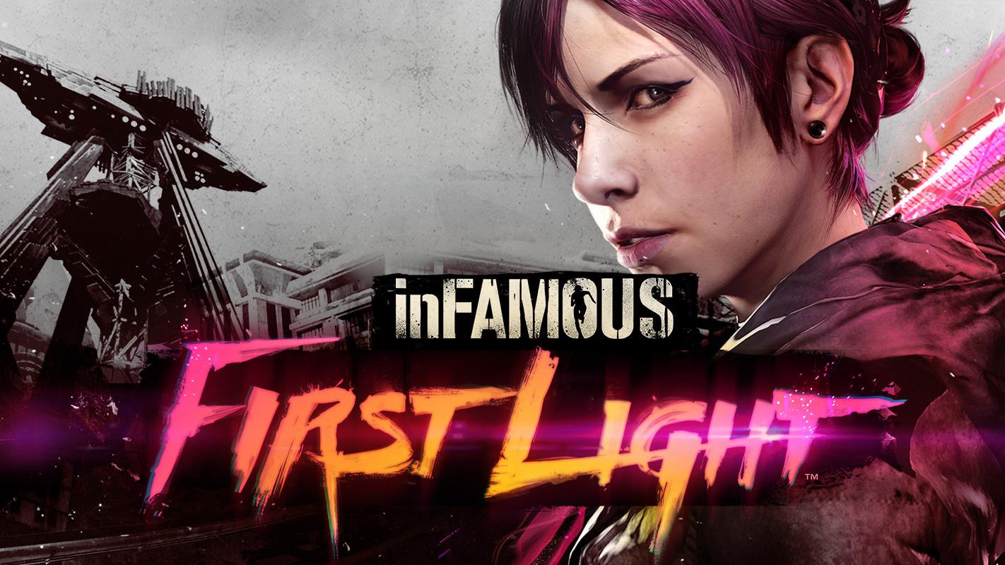 inFAMOUS - First Light - Render Art HD
