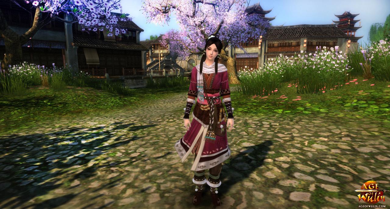 Age of Wulin - Woman Screenshot