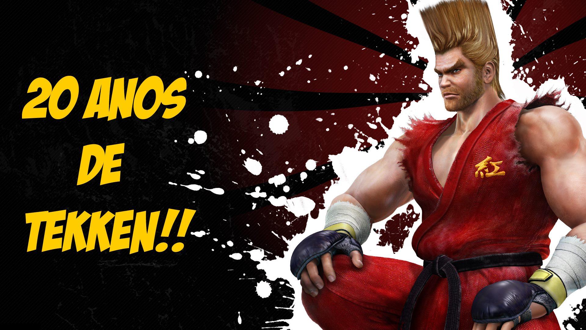 Gustavo Gear - Tekken - 20 Anos - Paul - Imagem