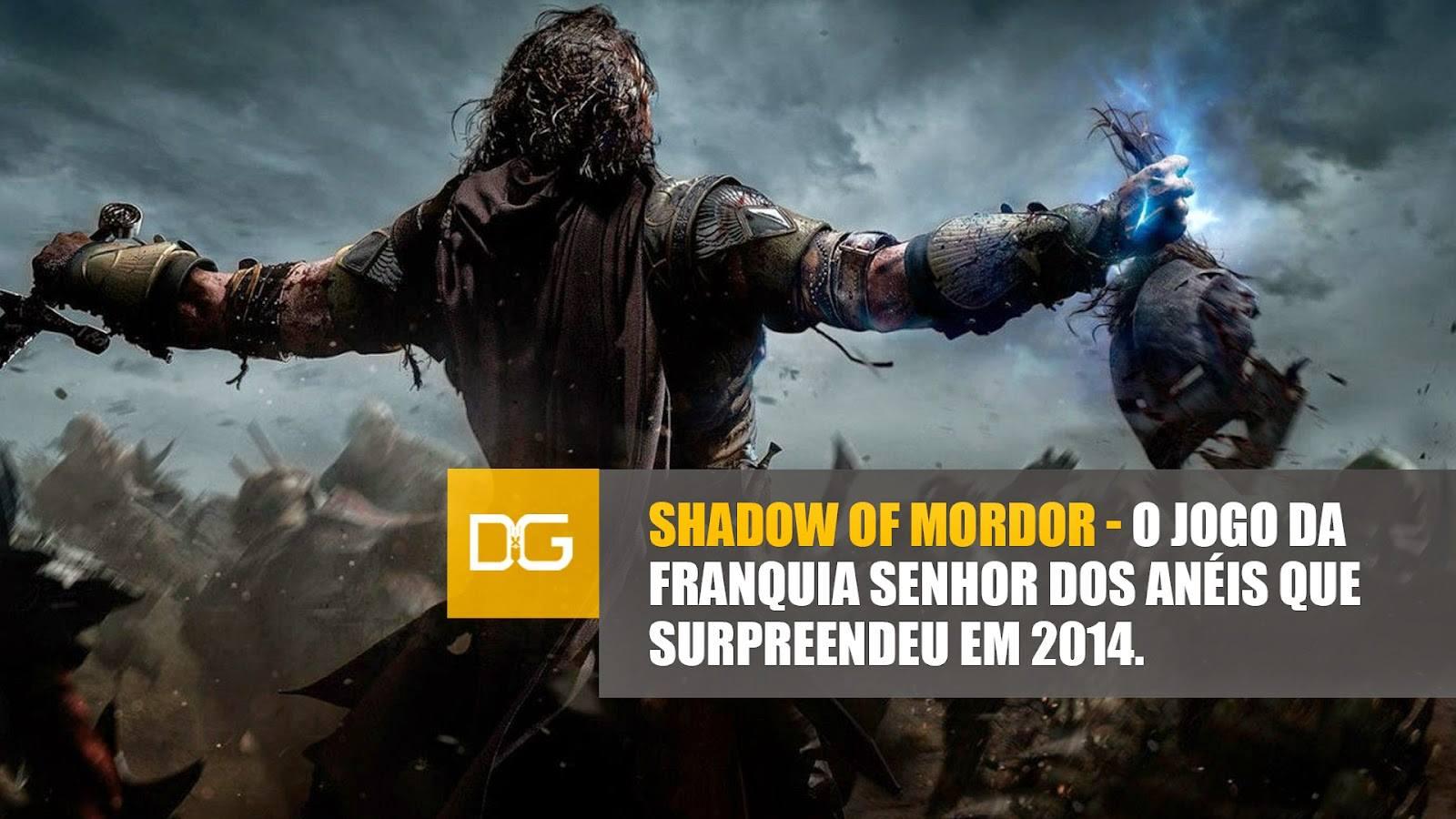 Shadow of Mordor - Destroyer Games - Imagem 1