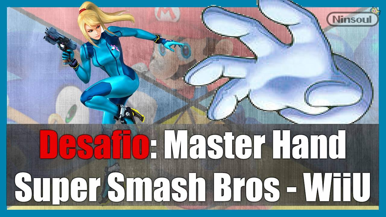 Super Smash Bros - Samus e Master Hand - NinSoul - Imagem