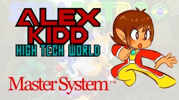 Alex Kidd - High Tech World - Imagem