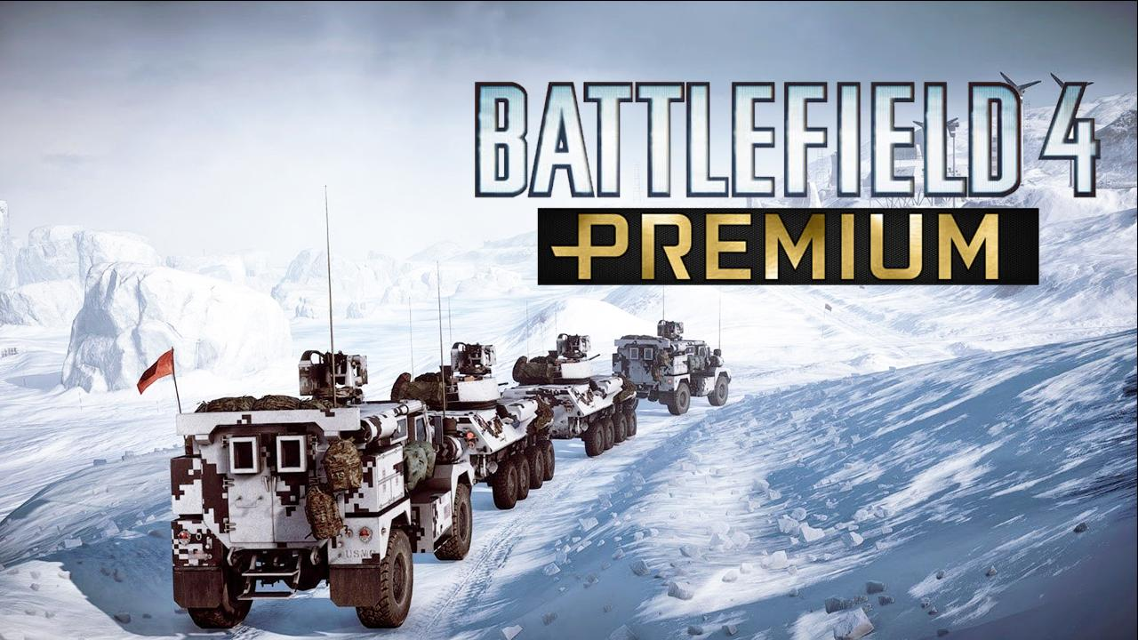 Battlefield 4 - Premium - Cars Screen