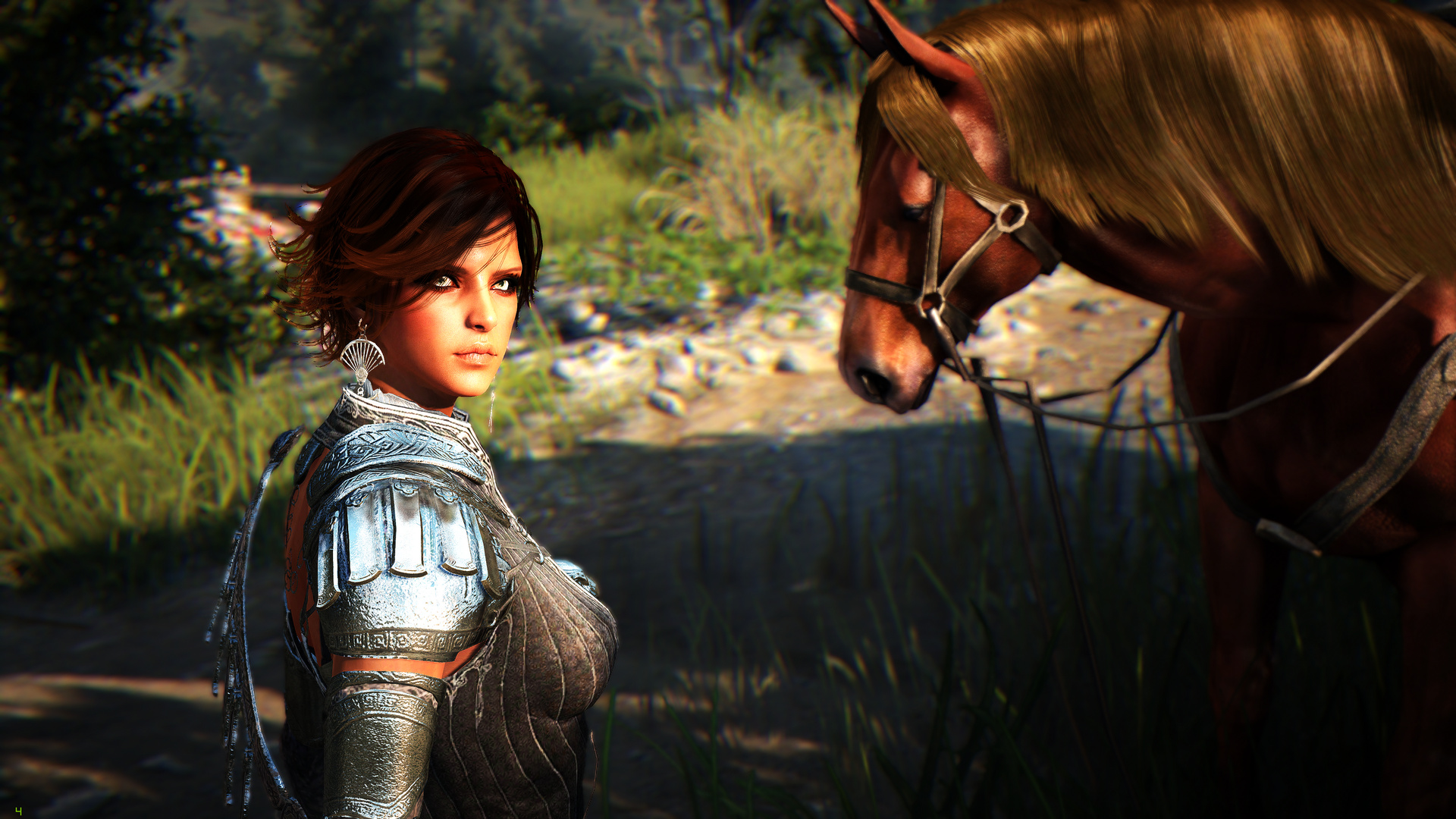 Black Desert Online - Beauty Woman and Horse