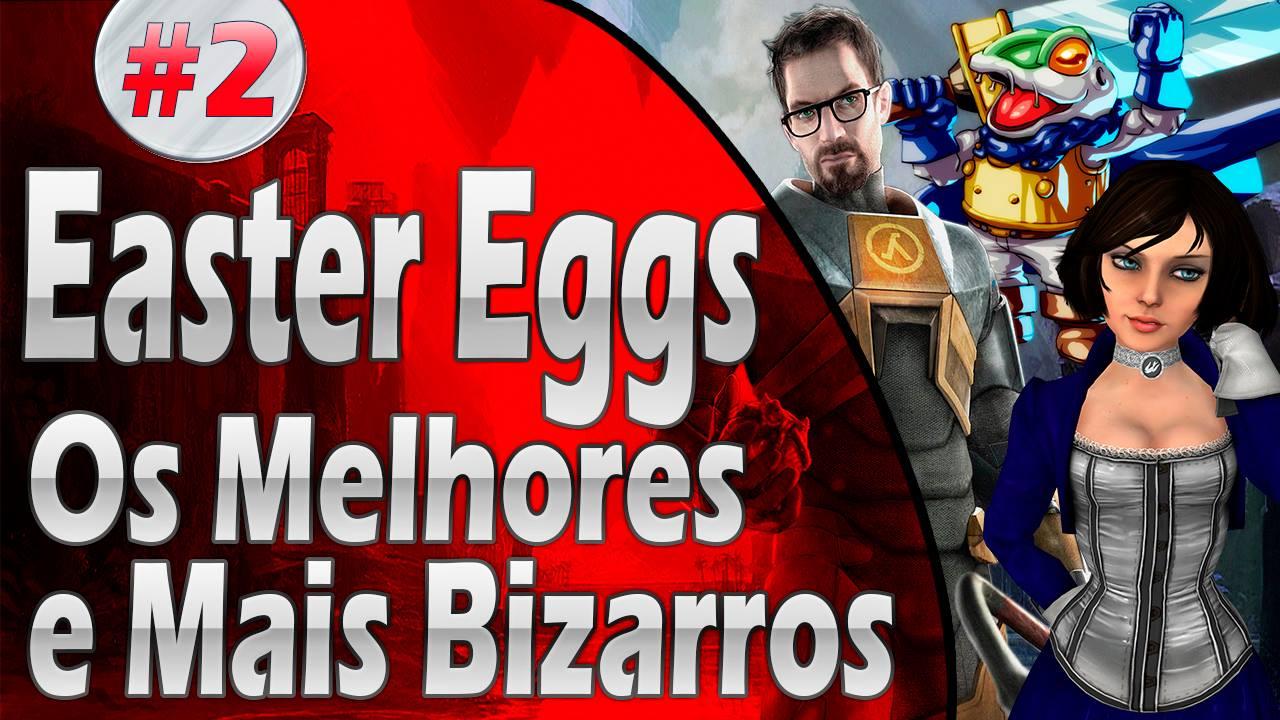 Easter Eggs nos Games - Parte 2 - Imagem Jiraya Plays