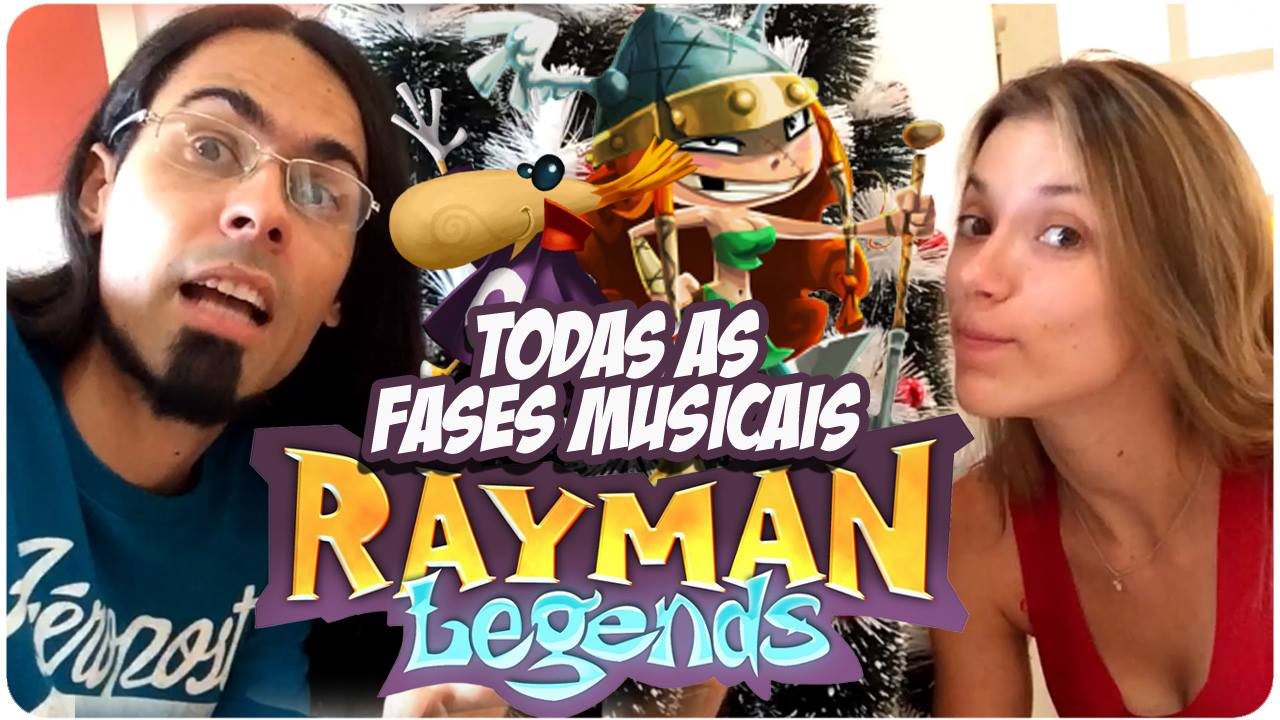 Fases Musicais - Rayman Legends - Casal Play Game - Imagem